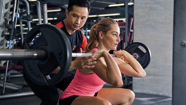 personal gym trainer in Jakarta Indonesia